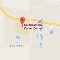 Map for Southeastern Career Center